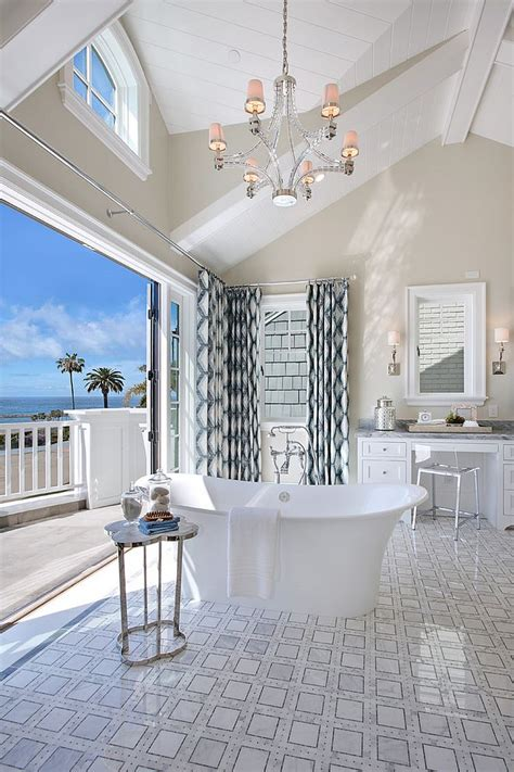 Kitchen Interiors Ideas 20 luxurious bathrooms with a scenic view of the ocean