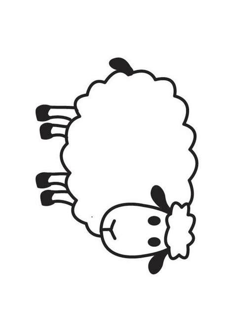 Malvorlage Schaaf | Ausmalbild 17791. Lamb Black And White Clipart