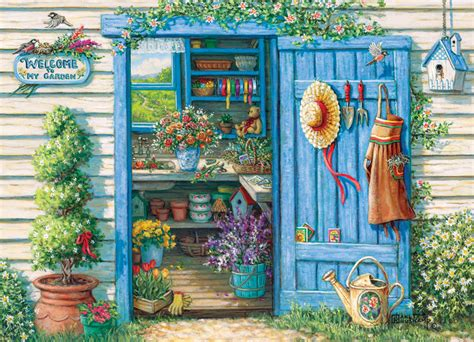 Garden Puzzle by Welcome To Garden Jigsaw Puzzle Puzzlewarehouse