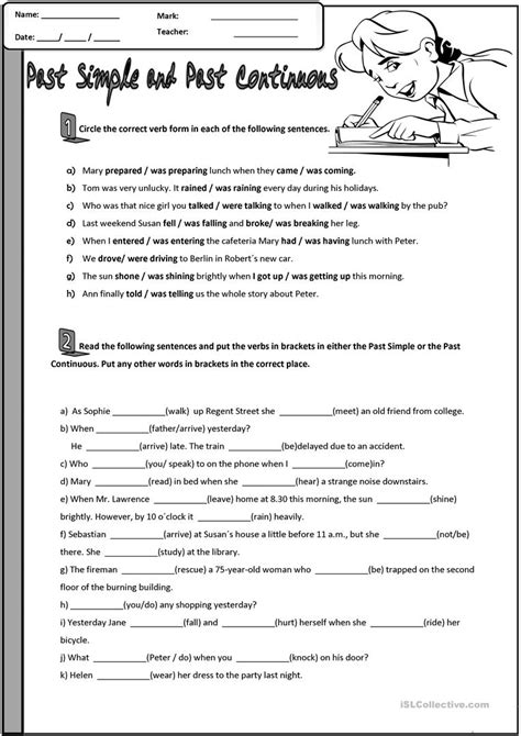 past tense exercises worksheets workbooks 187 past continuous worksheets free printable