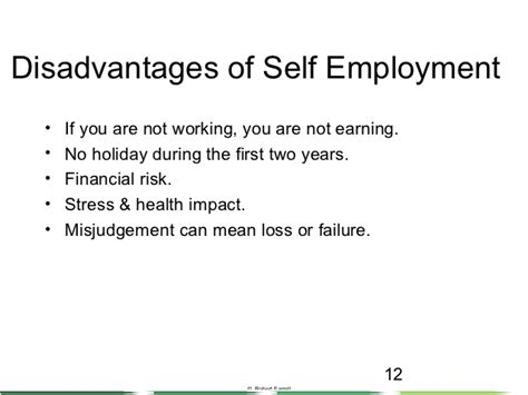8 Pros Of Being Self Employed by Intro To Self Employment 101