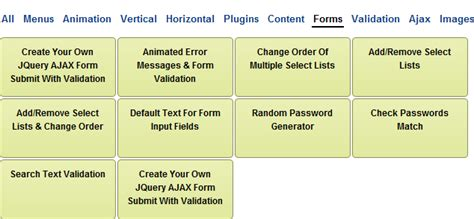 tutorial html list create an automatic content filter using jquery css