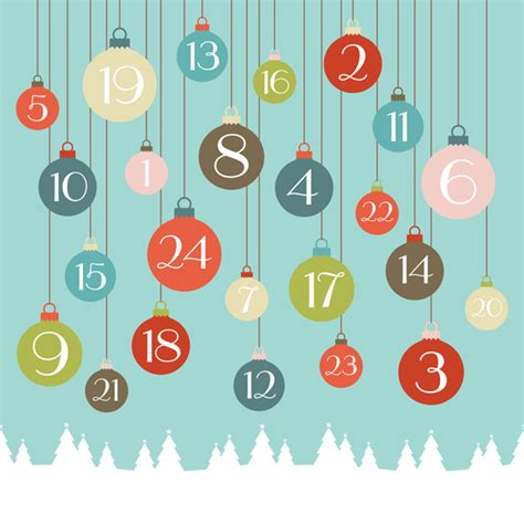Avent Calendrier Calendrier Avent Calendar Template 2016