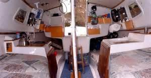 potter 19 cabin interior sailboats airstreams