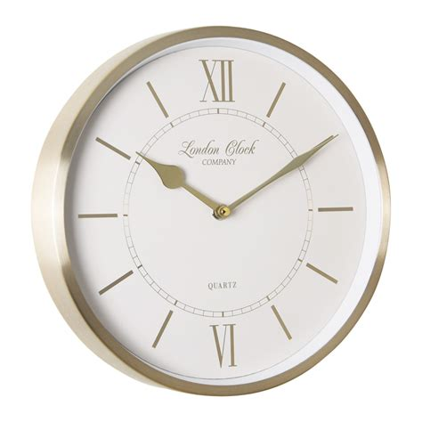buy clock buy sophie gold wall clock online purely wall clocks