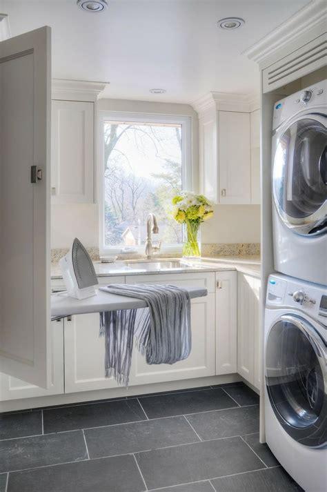 laundry room montauk black slate floor kitchen floor idea laundry room washers cabinets and