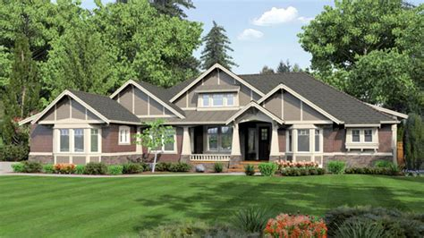 country house plans one story one story ranch house plans large single story home plans