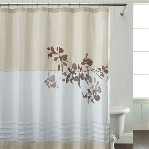 taupe shower curtain dusk taupe fabric shower curtain colors out of stock of