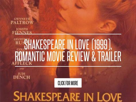 Runaway 1999 Review And Trailer by Shakespeare In 1999 Review Trailer