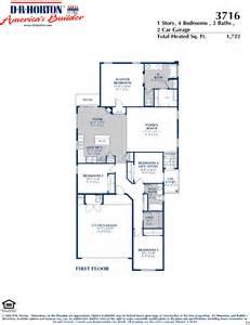 Horton Homes Floor Plans by Dr Horton Sandoval Floor Plan