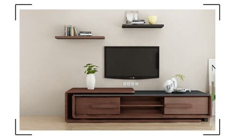 wooden wall units for living room modern design wooden tv cabinet with showcase living room