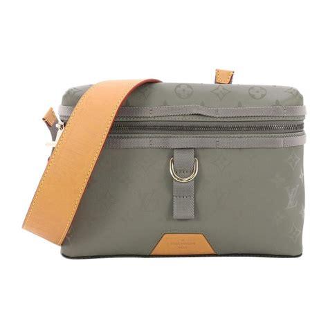 louis vuitton messenger bag limited edition titanium