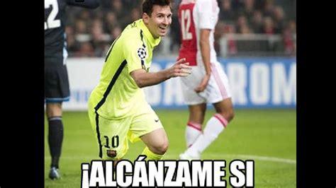 Memes De Messi - memes se burlan de cristiano ronaldo tras r 233 cord de lionel