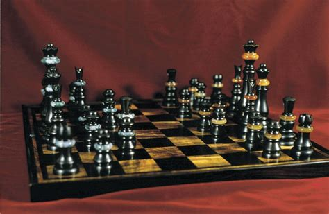 custom chess sets custom chess board and pieces by joel shepard furniture custommade