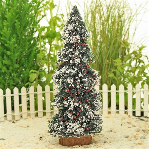 snow and berries christmas tree tree with berries and snow garden accessory