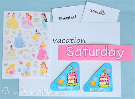Counting Calendar Days Preschool Calendar Counting The Days To Vacation Brie