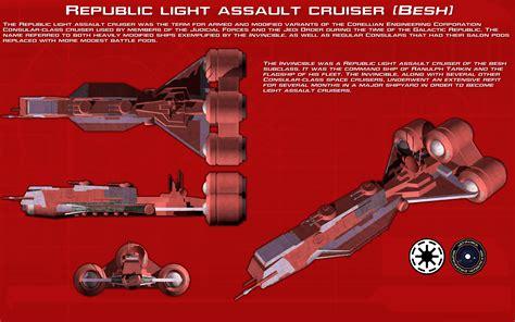 republic light assault cruiser besh ortho new by