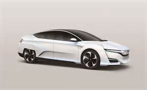Future Honda Cars Honda Fcv Concept Hydrogen Fuel Cell Vehicle Coming In