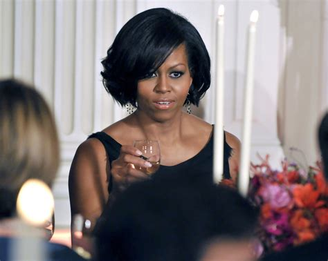 what is with michelle obama hair style michelle obama short wavy cut michelle obama hair looks