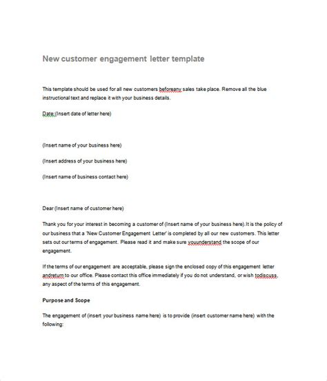 letter templates word documents