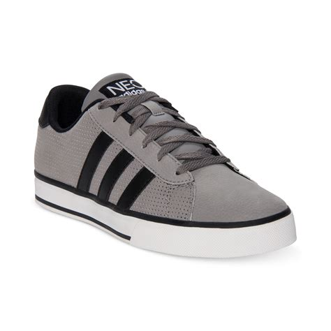 adidas s neo se daily vulc casual sneakers from finish line in gray for mystery black