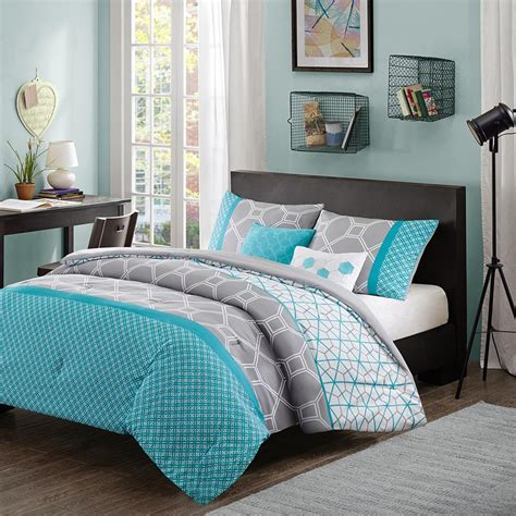 Teal Queen Comforter Set Teal Bedding Sets Queen Home Furniture Design