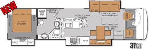 class a motorhome floor plans class b rv floor plans estate buildings information portal
