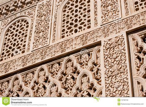 moorish design islamic moorish art carved stock photo image 16780190