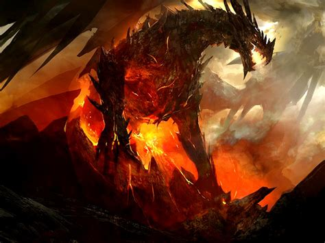download dragons fire wallpaper 1600x1200 wallpoper 245720