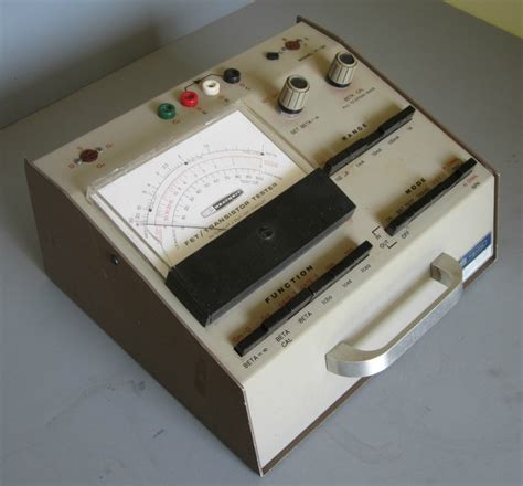 transistor fet tester 17 best images about heathkit on radios models and auction