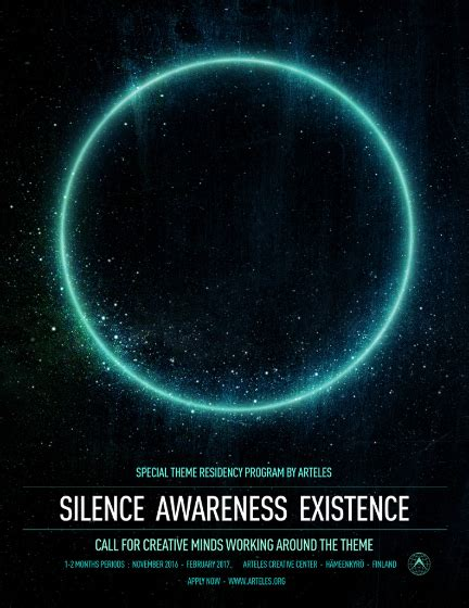 Awarness In The Silence re title artist opportunities february 2016