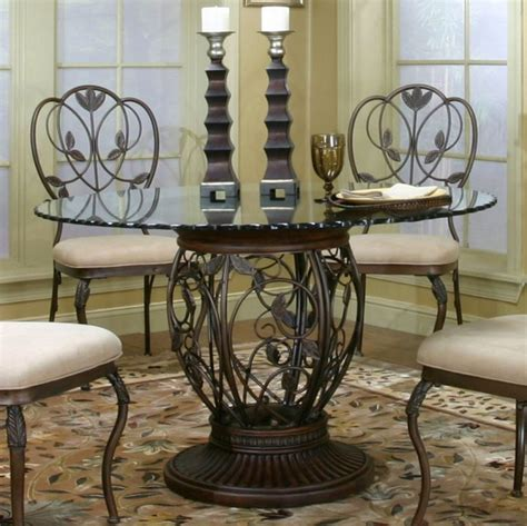 wrought iron pedestal table 17 pedestal table base ideas