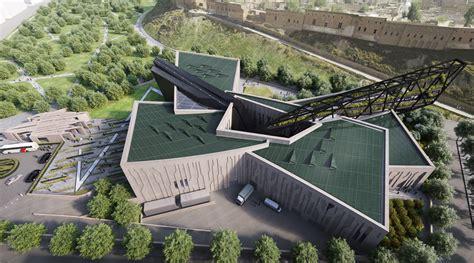 Home Design Software Virtual Architect Daniel Libeskind Unveils Design For The Kurdistan Museum