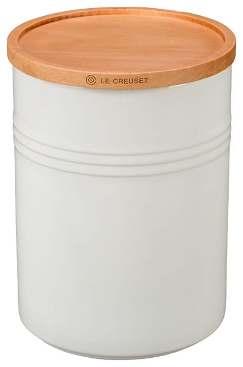 wooden kitchen canisters canister with wood lid 22 oz 4 quot diameter kitchen