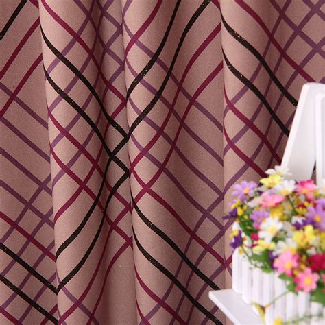 thermal curtain fabric classic plain curtain lackout thermal polyester fabric curtain