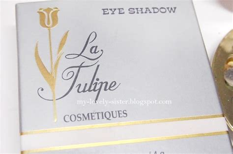 Review Eyeshadow La Tulipe my lovely a with review tutorial eye