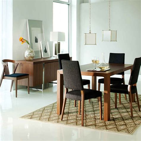 simple dining room and kitchen decobizz