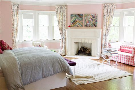 pink master bedroom family friendly home in toronto with personal style