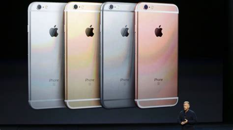 iphone 6s color apple aapl unveils iphone 6s and 6s plus what you need