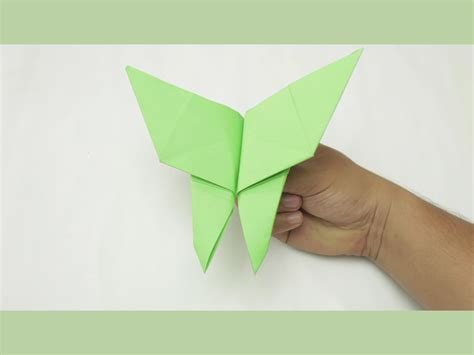 How To Make A Paper Butterfly - how to make a butterfly origami with pictures wikihow