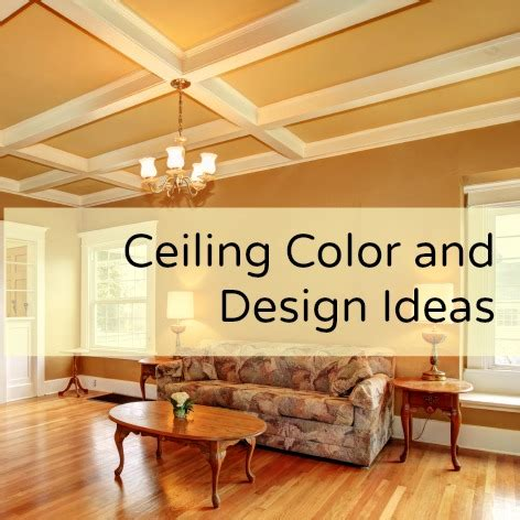 Ceiling Color and Design Ideas