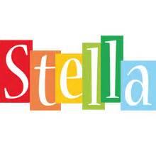 stella color stella logo name logo generator smoothie summer
