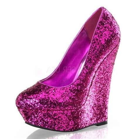 pink glitter shoes luster 20 pink glitter wedge shoes pinchmeclothing