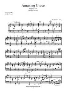 Amazing Grace Advanced Version Sheet Music For Piano Solo » Home Design 2017