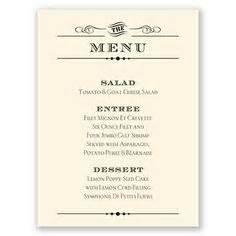 easy dinner menus 1000 images about menu cards on pinterest menu cards