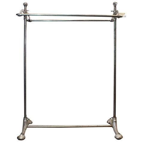 superb deco rolling clothes rack 1920s at 1stdibs