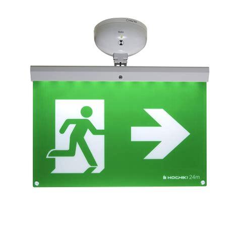 Addressable Emergency Lighting - 24m addressable exit sign firescape emergency lighting