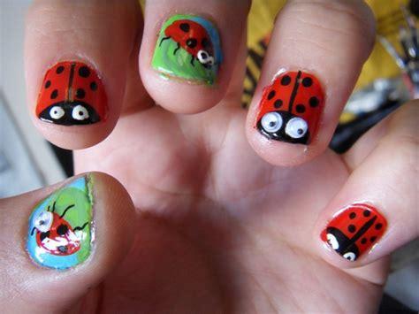 cute easy lady bug nail art youtube cute nail art designs easy cute nail designs cute nail art