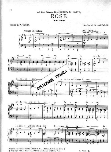 testo popoff spartiti zecchino d oro pianoforte fare di una mosca