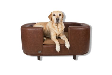 dog bed leather couch leather dog sofa bed revistapachecocom dog beds and costumes